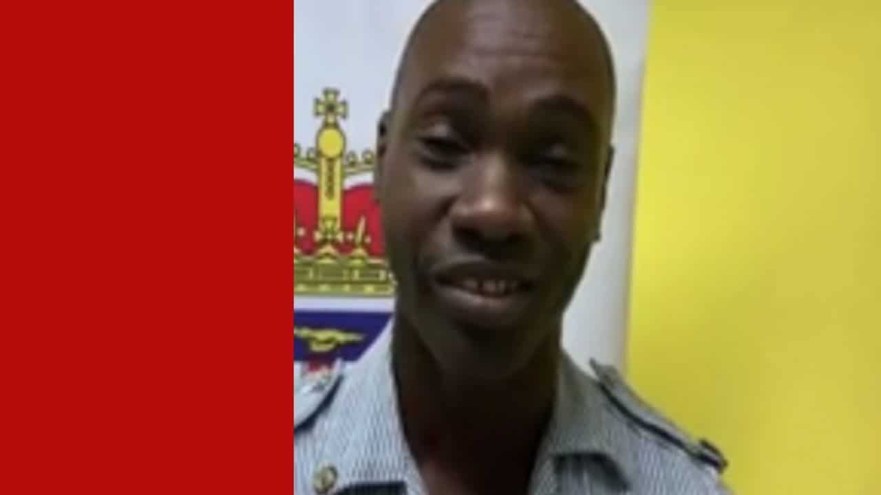 Jamaican Cop battling cancer vows to serve until his last day