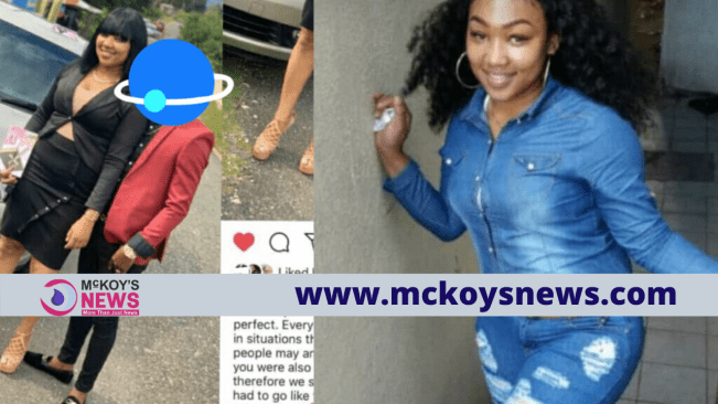 Boyfriend makes emotional post on IG after his Girlfriend was shot & killed by her Lover in Mandeville