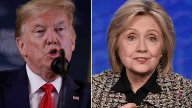 Trump responds to Clinton's comments against Sanders: 'Nobody likes her'