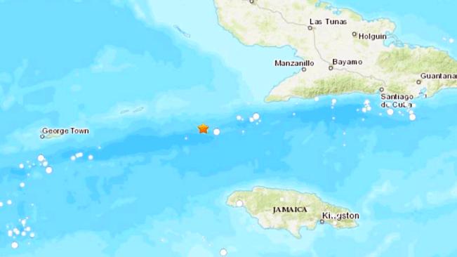 Another Tremor Near Jamaica