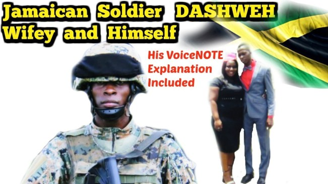 Video: Jamaican Soldier himself and his wife