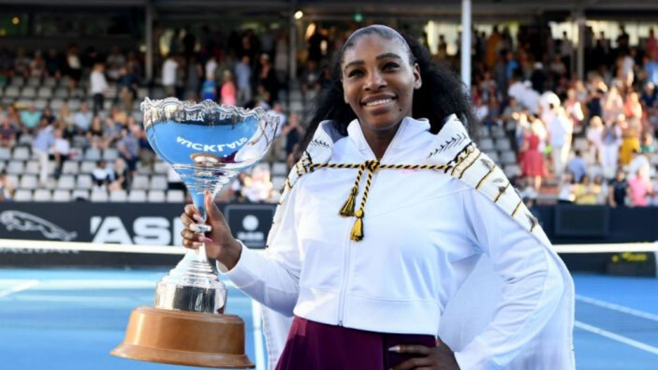 Serena Williams ends drought, wins first title since she had her daughter