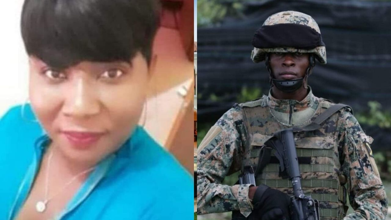 JDF Soldier Chop & Shot his wife to Death then killed himself In Portmore