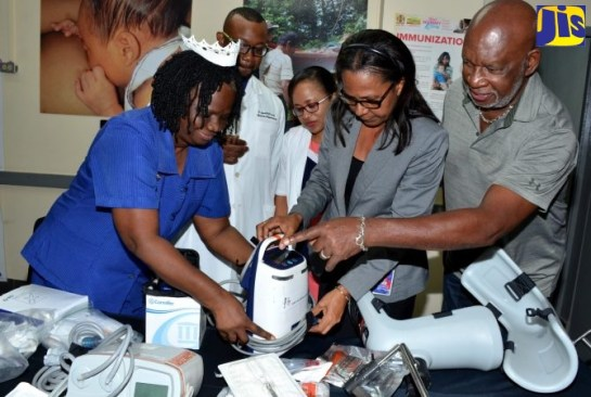 Victoria Jubilee Hospital Gets Equipment And Supplies