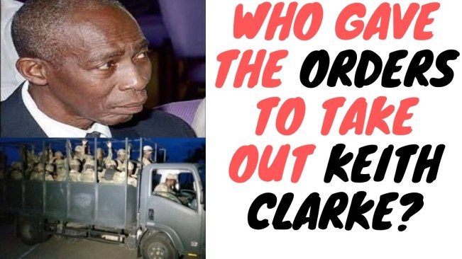 Keith Clarke's Murder Was Not A Mix Up