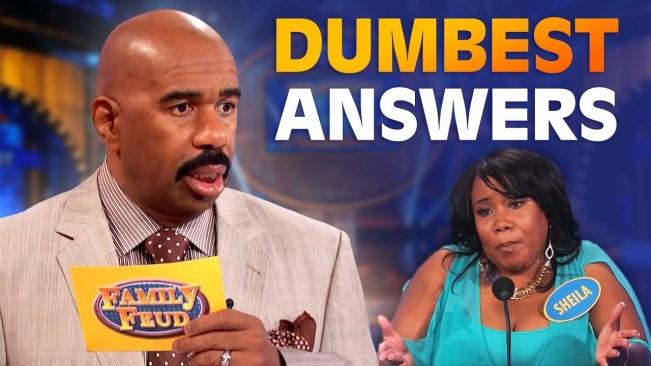 DUMBEST ANSWERS EVER! Steve Harvey is SPEECHLESS