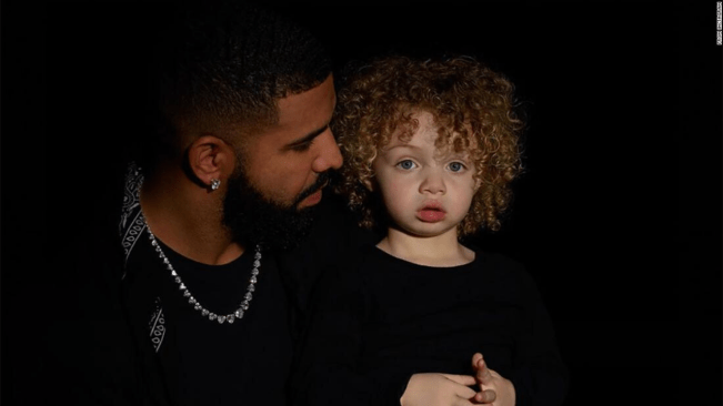 DRAKE HERE'S ADONIS!!! Kid's Got Major Goldilocks