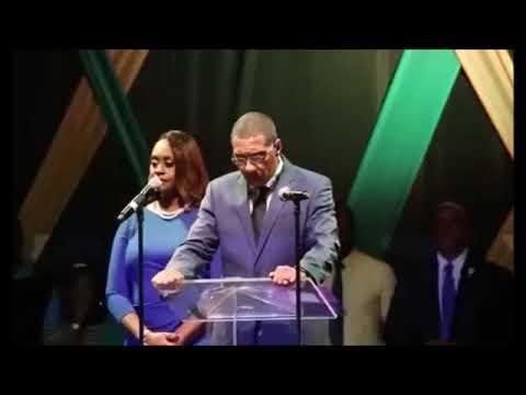 Prime Minister Andrew Holness Pray for Jamaica