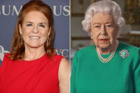 Sarah Ferguson reacts to Queen Elizabeth's coronavirus speech