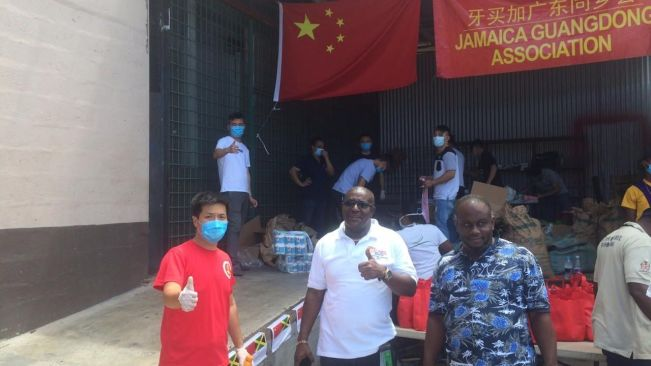 Jamaica Guandong Association Give Back to the Community in Montego Bay