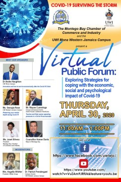 COVID-19 Surviving the Storm – Virtual Public Forum