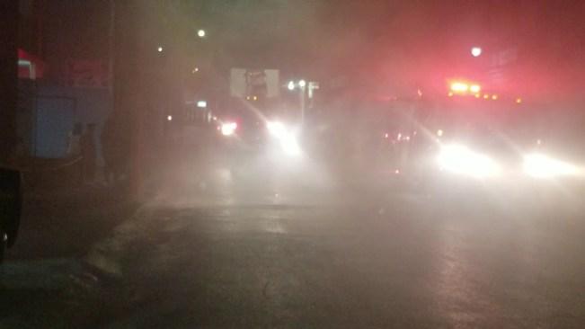 Video: Massive Fire on Barnett Street, Montego Bay