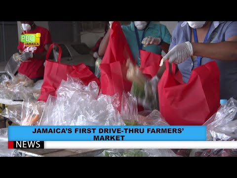 Jamaica's First Drive-Thru Farmers' Market