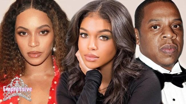Lori Harvey flirts with Beyonce's husband Jay-Z