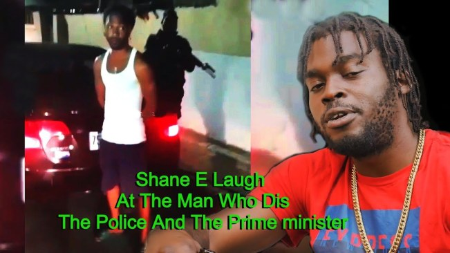 Shane E Laugh At The Man Who Dis The Prime Minister And The Police