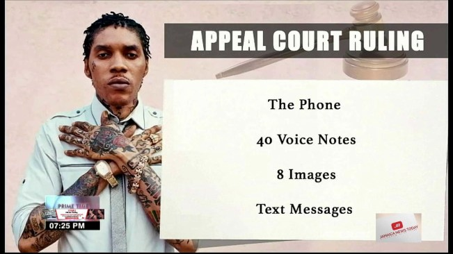 Shocking News, Listen Why Vybz Kartel Appeal Was Rejected