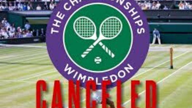 Wimbledon 2020 cancelled
