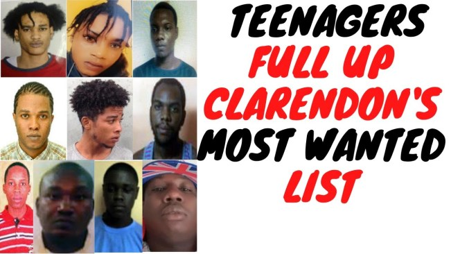 16 Year Old Topping Clarendon's Most Wanted List