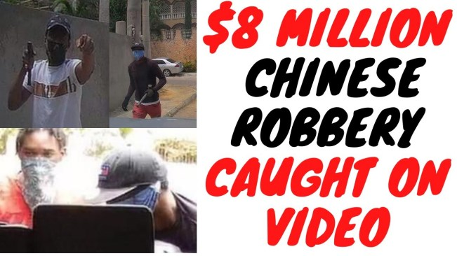 Chinese Businessman Who Was Robbed $8 Million Cash Was Also Robbed $12 Million Last Year