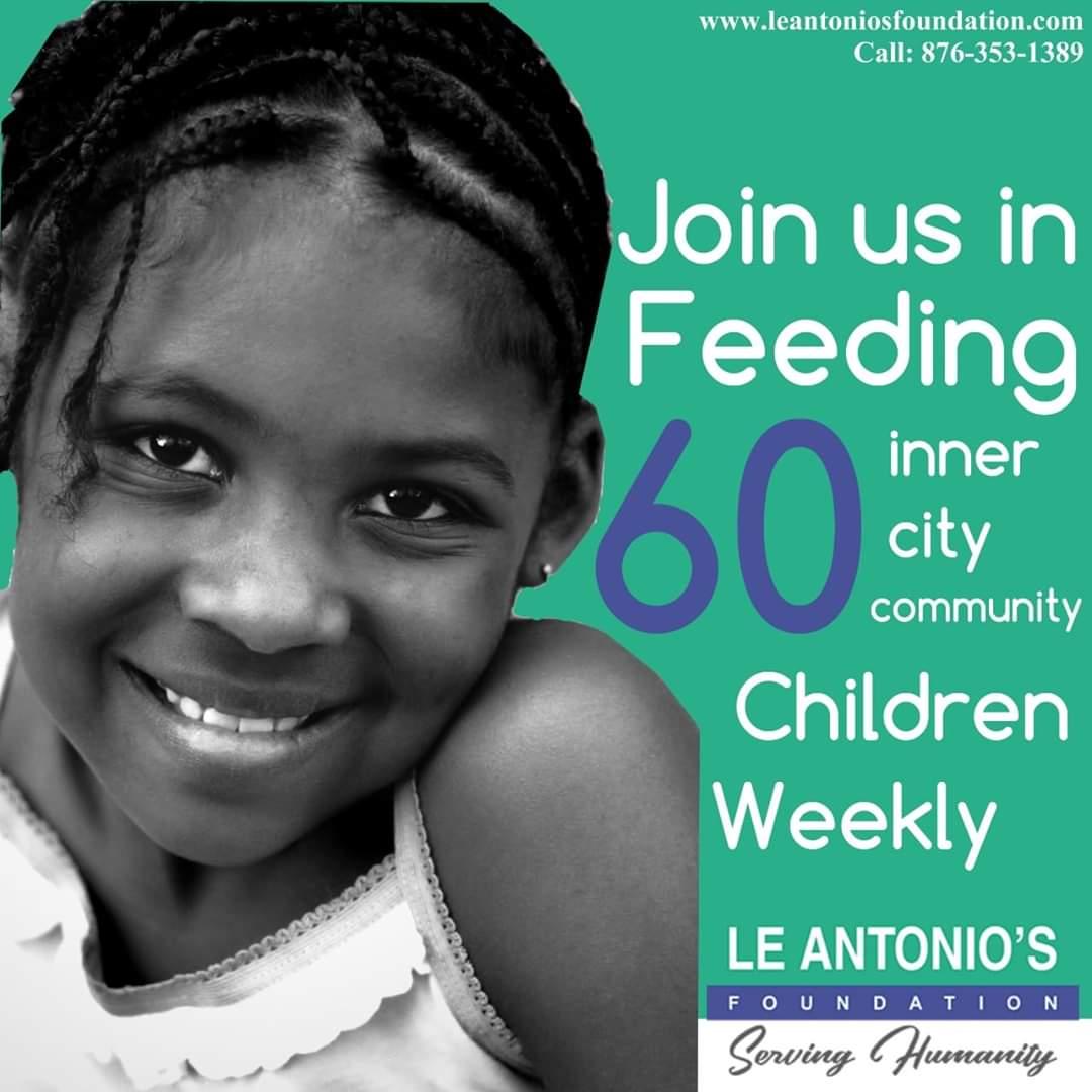 Feeding Programme - Le Antonio's Foundation