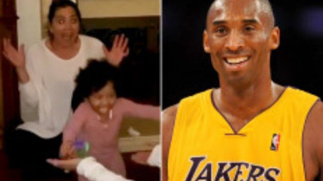 Kobe Bryant's youngest daughter, Capri, takes first steps in touching video