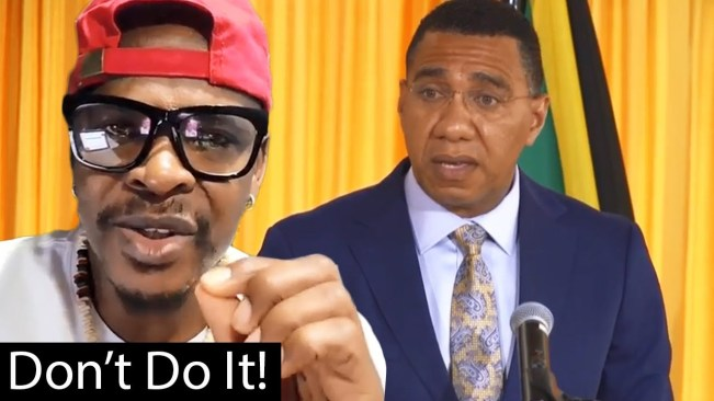 Mr Vegas Sends Direct Message To Prime Minister Andrew Holness