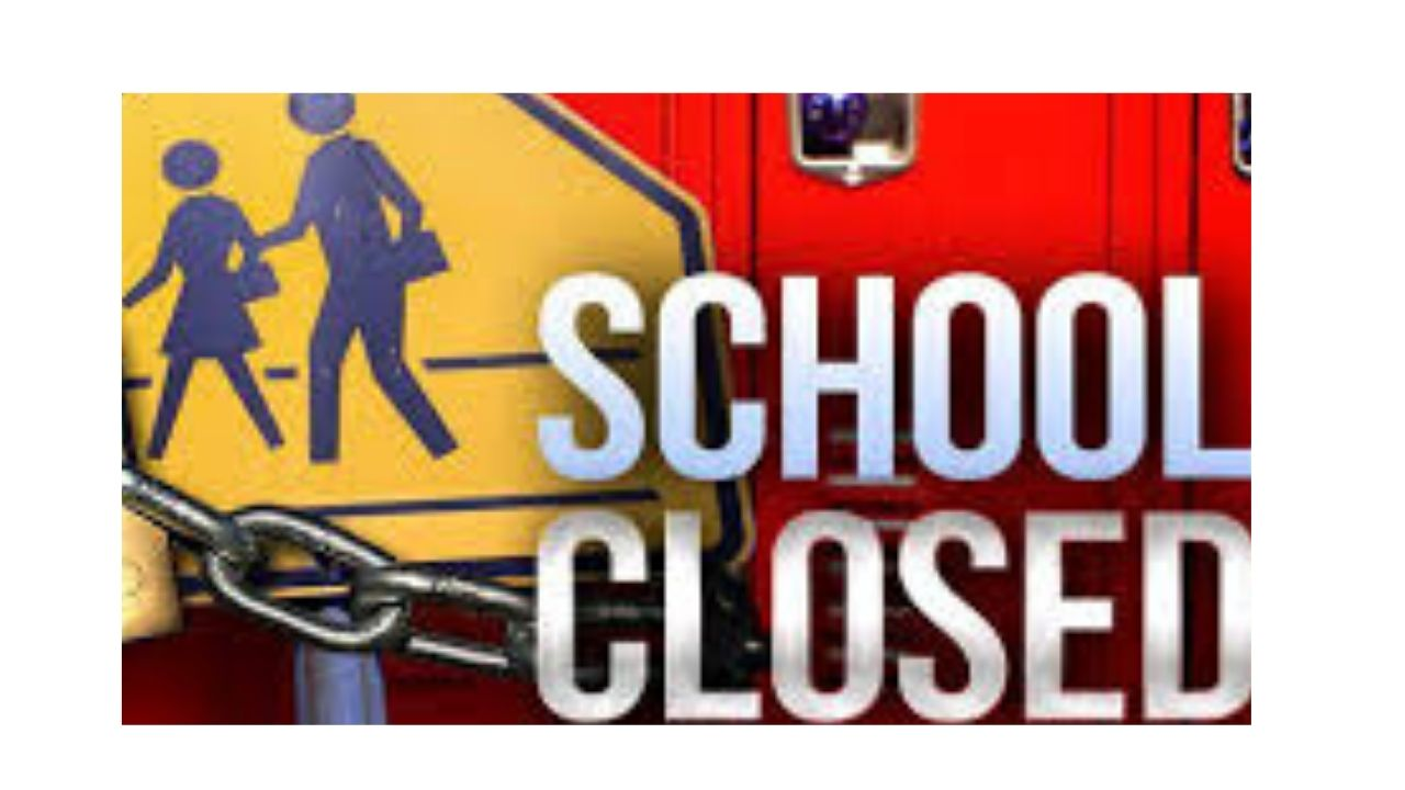 Schools closed for rest of academic year