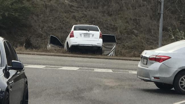 Car Crash with Alleged Gunmen, One Dead