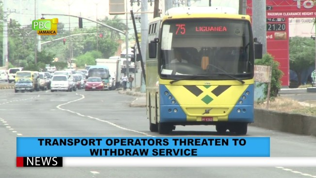 Transport Operators Threaten To Withdraw Service