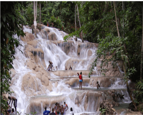 Dunn's River Falls Said To Be Recording Uptick In First Days Of Re-Opening