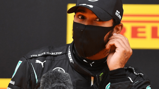 Lewis Hamilton takes first F1 2020 win after Ferraris collide