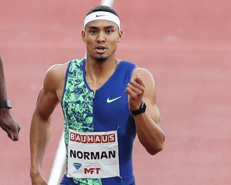 US Sprinter Norman Sets World-Leading 9.86 In Fort Worth