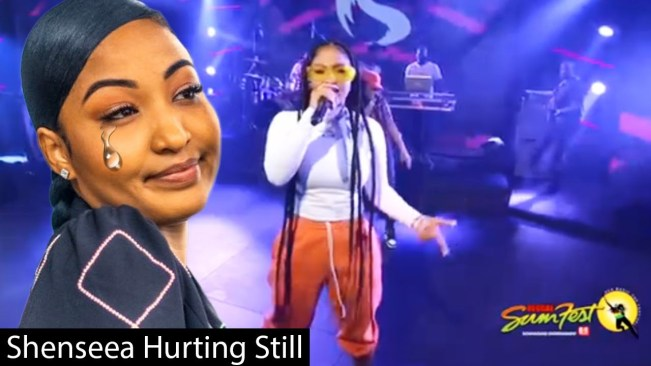 Shenseea Breaks Down