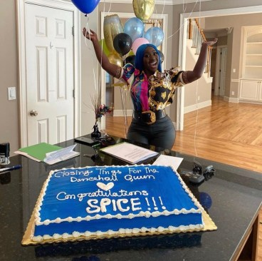 Spice purchases new home