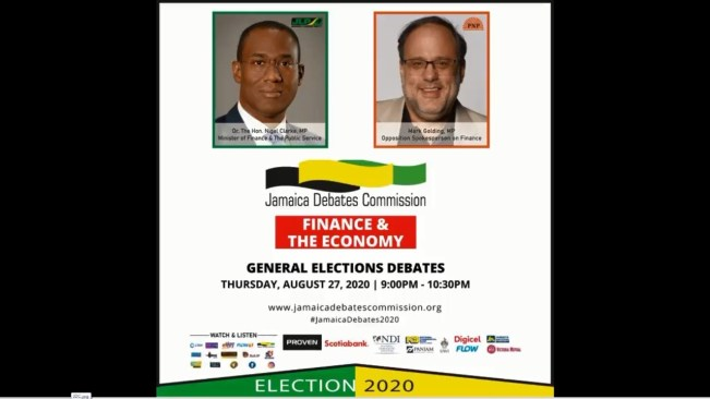 LIVE NOW:Jamaica Debates Commission | General Election Debates | FINANCE & THE ECONOMY- August 27, 2020​
