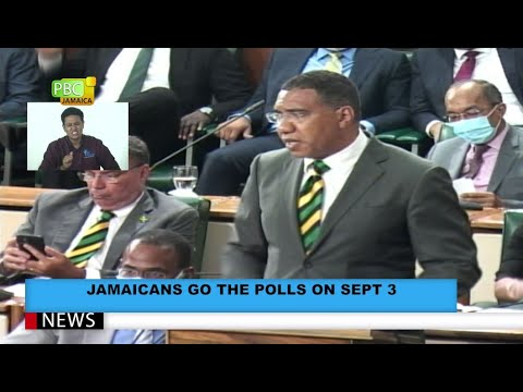 Jamaicans Go To The Polls On Sept 3