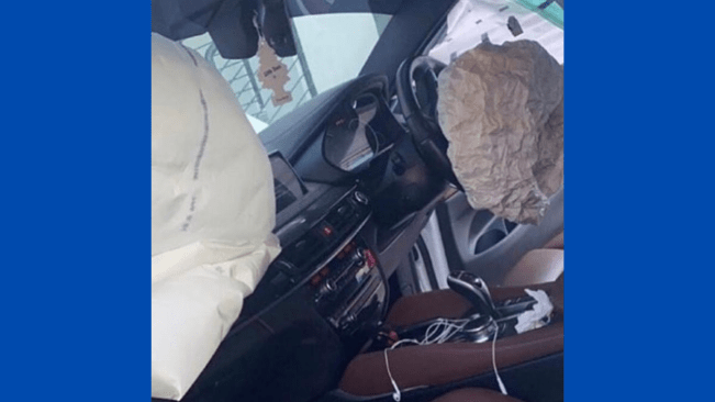Shenseea Meets in Car Accident