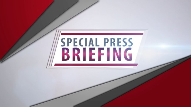LIVE NOW:Special Press Briefing – August 6, 2020
