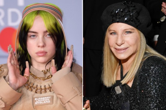 Billie Eilish, Barbra Streisand items to be auctioned for COVID-19 charity