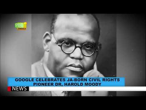 Google Celebrates JA Born Civil Rights Pioneer, Dr. Harold Moody