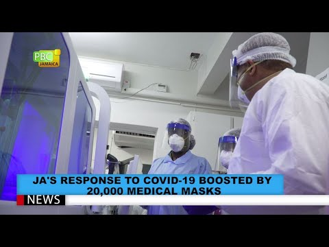 JA's Response To COVID-19 Boosted By 20,000 Medical Masks