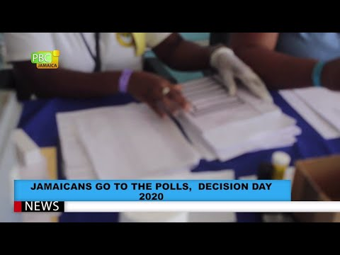 Jamaicans Go To The Polls, Decision Day 2020