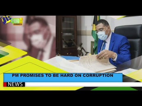 PM Promises To Be Hard On Corruption