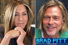 See Brad Pitt and Jennifer Aniston reunite at 'Fast Times' table read