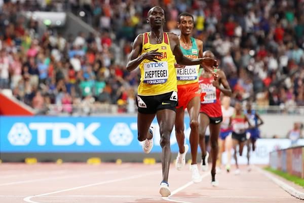 Cheptegei's 5000m world record ratified by World Athletics