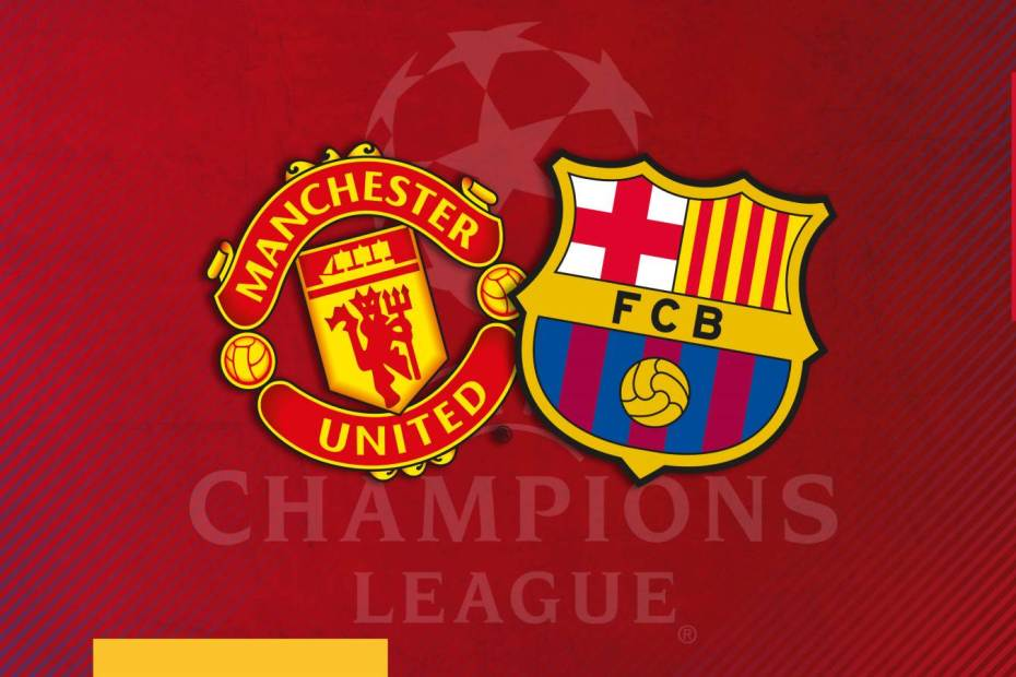 Big wins for Manchester United and FC Barcelona in Champion League