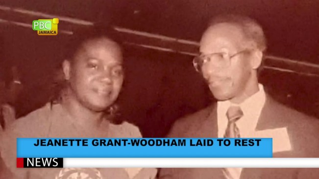 JEANETTE GRANT WOODHAM LAID TO REST