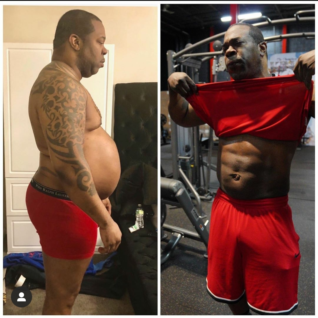 Busta Rhymes shows off massive weight loss