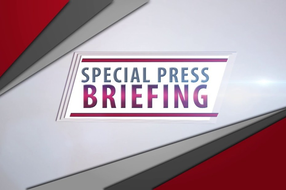 LIVE NOW:Special Press Briefing – Office of the Prime Minister – October 28, 2020
