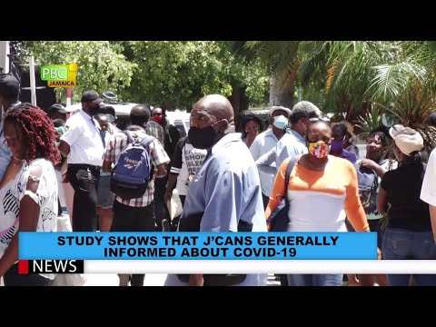 Study Shows That Jamaicans Generally Informed About COVID-19